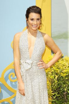 Lea Michele Is a Beauty Queen, No Nose Job Necessary