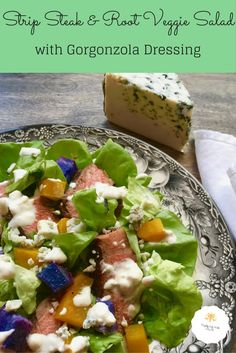 strip-steak-root-veggie-salad-with-gorgonzola-dressing