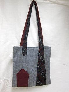 Tie purse- love the detail formed by the straps,,,,,