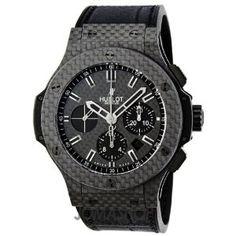 Hublot Big Bang All Carbon Fiber Chronograph Automatic Mens Watch 301.QX.1740.GR