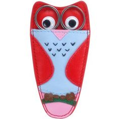 Cath Kidston - Owl Scissors Holder :: guarda tijeras de búho