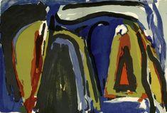 Bram van Velde - Derriere le miroir. 1975