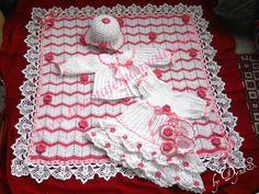 Set for little baby girl - via @Craftsy
