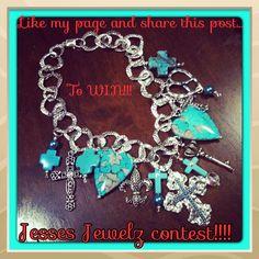 Contest on my page!! Www.facebook.com/jessesjewelz2