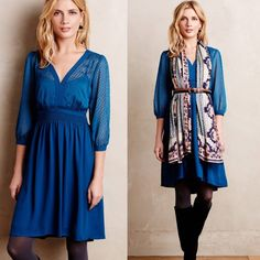 [Anthropologie]celeste dress This gorgeous HD in Paris (via Anthropologie) dress can take you from day to night any season! Details: cotton, rayon; polyester lining fit-and-flare silhouette and side zip. No PayPal + No Trades. Anthropologie Dresses Midi