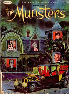 Watch The Munsters Classic TV Comedy The Munsters, Munsters Tv Show, Munsters House, Vintage Horror, Vintage Books, Vintage Magazines, Vintage Comics, Kitsch, Dramas