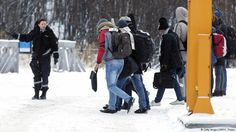 Norwegian authorities have begun a controversial new practice of using busses to transport asylum seekers back to Russia. The move has sparked a hunger strike among some migrants opposed to leaving Norway.JAN16