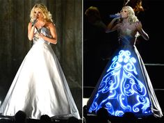 carrie underwood's dress was the best of the night