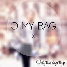 Only two days left! On Sunday you will find out about our special #omyraspberrybag. We can't wait, can you?