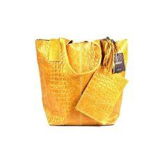 Venezia 66639K Cuoi Handbags (385 BRL) ❤ liked on Polyvore featuring bags, handbags, yellow, yellow purse, handbags bags, yellow hand bags, purse bag and yellow bag