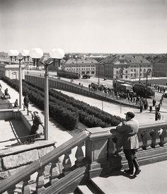 Trasa W-Z Warszawa, 1951