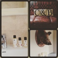 Had a fantastic lunch at the all new Crab and Boar at Chieveley today. Beautiful rooms featuring our products... Some even have private hot tubs! Highly recommended. #Bramley #Madeinengland #crabandboar