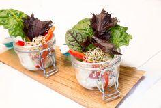 Gartengemüse mit Aiolis, Brennessel und Blutampfer #vegan #bio #pennhof