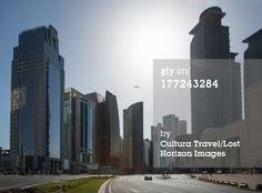 Stock-Fotografie: Skyscrapers of downtown Doha Qatar
