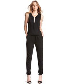 Kiind Of Sleeveless Tulip-Back Jumpsuit - Jumpsuits & Rompers - Women - Macy's