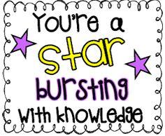 Krazee 4 Kindergarten: Motivational Candy Themed Test Taking Notes