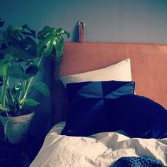 What dreams are made of #them #headboard #bythornam #danishdesign #madeindenmark #leather #bedroom #sleep #relax #furniture #interior #interiordesign #dreams #designinspiration #homedecor #inspiration #slowliving #designinterior #designspaces #newhome #design #instahome #chill #hotel