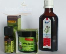 Vyrobte si tymiánový olej, tymiánový krém nebo koupel Nordic Interior, Korn, Sauce Bottle, Ketchup, Whiskey Bottle, Shampoo, Personal Care, Drinks, Health
