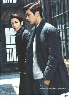 CNBLUE Yong Hwa and Min Hyuk
