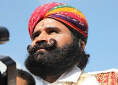 Pushkar Fair Moustache Competition Winner