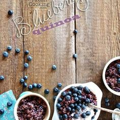 Blueberry Quinoa
