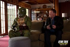 A Showdown Four Decades Later: William Shatner Faces the Alien Gorn Again in Promo for Upcoming Release of STAR TREK ®: THE VIDEO GAME