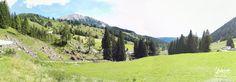 Oostenrijks panorama landschap