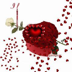 Κάρτες Αγάπης Κινούμενες Εικόνες  Love Cards Animated Images giortazo I Love You Animation, World Gif, Animated Heart, You Dont Love Me, Jill Scott, Love Rose, Romantic Love Quotes, Love Cards, Beautiful Roses