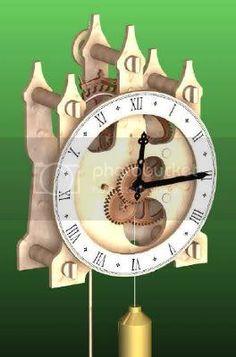 Wooden Clock Plans, Wooden Gear Clock, Wooden Gears, Wood Clocks, Used Woodworking Tools, Woodworking Projects Diy, Diy Wood Projects, Woodworking Plans, Kinetic Art