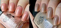 Avon Color Gel Finish - Rosa Delicado e Nude Clássico