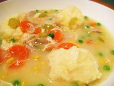 Chicken Stew with Dumplings   Jillian's Kitchen