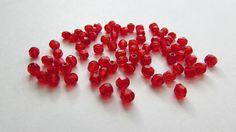 50pcs  Czech Preciosa 4mm Firepolish Round Beads by ArtyBeadsStore