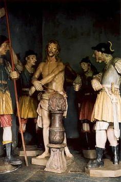 ALEIJADINHO. Cristo flagelado, Santuário de Congonhas