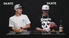 """TransWorld SKATEboarding's """"Skate Nerd"""": Josh Kalis vs. Peter Smolik   GrindTV – GrindTV: GrindTV – Legends of the streets, we got Josh…"""