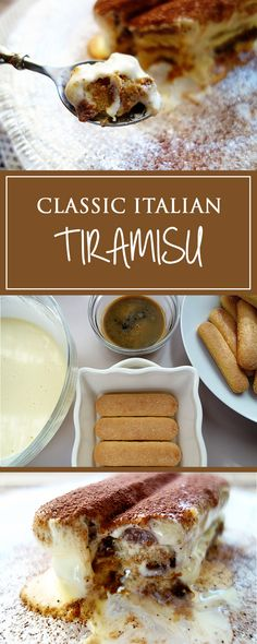 Classic Italian Tiramisu - this simple dessert recipe is always woth sinning for! Beautifully creamy and sooo delicious ... it can also be gluten-free! 🇮🇹❤️😋 | cucina-con-amore.com