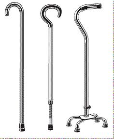 Using Canes and Walkers. Pinned by ottoolkit.com your source for physical disabilities and  geriatric occupational therapy resources.