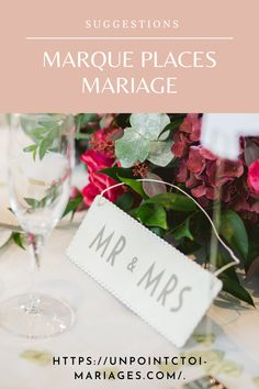 Mr Mrs, Point, Place Cards, Place Card Holders, Table Decorations, Organization, Dinner Table Decorations