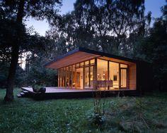 Weekend Cabin: A modern take on a classic fairy tale home. http://www.adventure-journal.com/2014/09/weekend-cabin-asserbo-house-denmark/