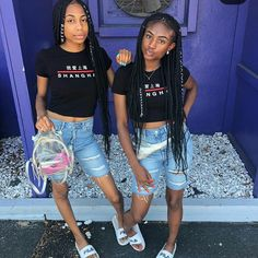 Bff Goals, Best Friend Goals, Squad Goals, Twin Outfits, Cute Swag Outfits, New Outfits, Matching Outfits Best Friend, Best Friend Outfits, Bestfriends