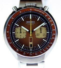 1970's Seiko Speedtimer