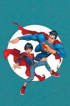 "#Superman #Fan #Art. (DC Universe Rebirth Superman. ""Son of Superman"" Vol.4#3 Cover) By: Patrick Gleason & Mick Gray & John Kalisz. (THE * 5 * STÅR * ÅWARD * OF: * AW YEAH, IT'S MAJOR ÅWESOMENESS!!!™)[THANK U 4 PINNING!!!<·><]<©>ÅÅÅ+(OB4E)"