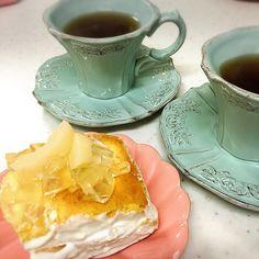 桃のcake