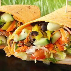 Pita à la salade grecque | Metro