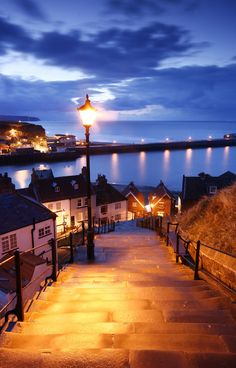 Whitby - England, from whence the Midwoods hail.