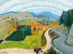Alexandra Painting, Wall Painting, Image, Art