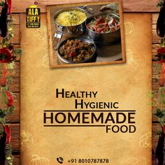 Tired day at work? Want to grab healthy and hygienic Ghar Ka Khana ? Call +91-8010787878 to order Alatiffy Tiffin now.