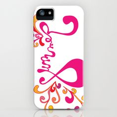 Summer iPhone & iPod Case by DESIGN X FIVE - $35.00 #iphone #case #summer #fun #quote #colorful #swirls #handdrawn #font #typography #handlettering #letter #illustration #phone #iphonecase