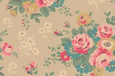 Kingswood Rose Ivory | Cath Kidston| Cath Kidston new autumn collection | A brand new floral for bags, accessories, home and fashion - look out for the charcoal colourway coming soon. Description from pinterest.com. I searched for this on bing.com/images