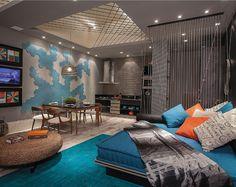 Paredes com cor e textura marcam salas, quartos e banheiros da Casa Cor MT - Casa e Decoração - UOL Mulher