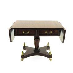UK Artisan Roy Sherwood's Signed Mahogany Sofa Table-Private Collection | eBay
